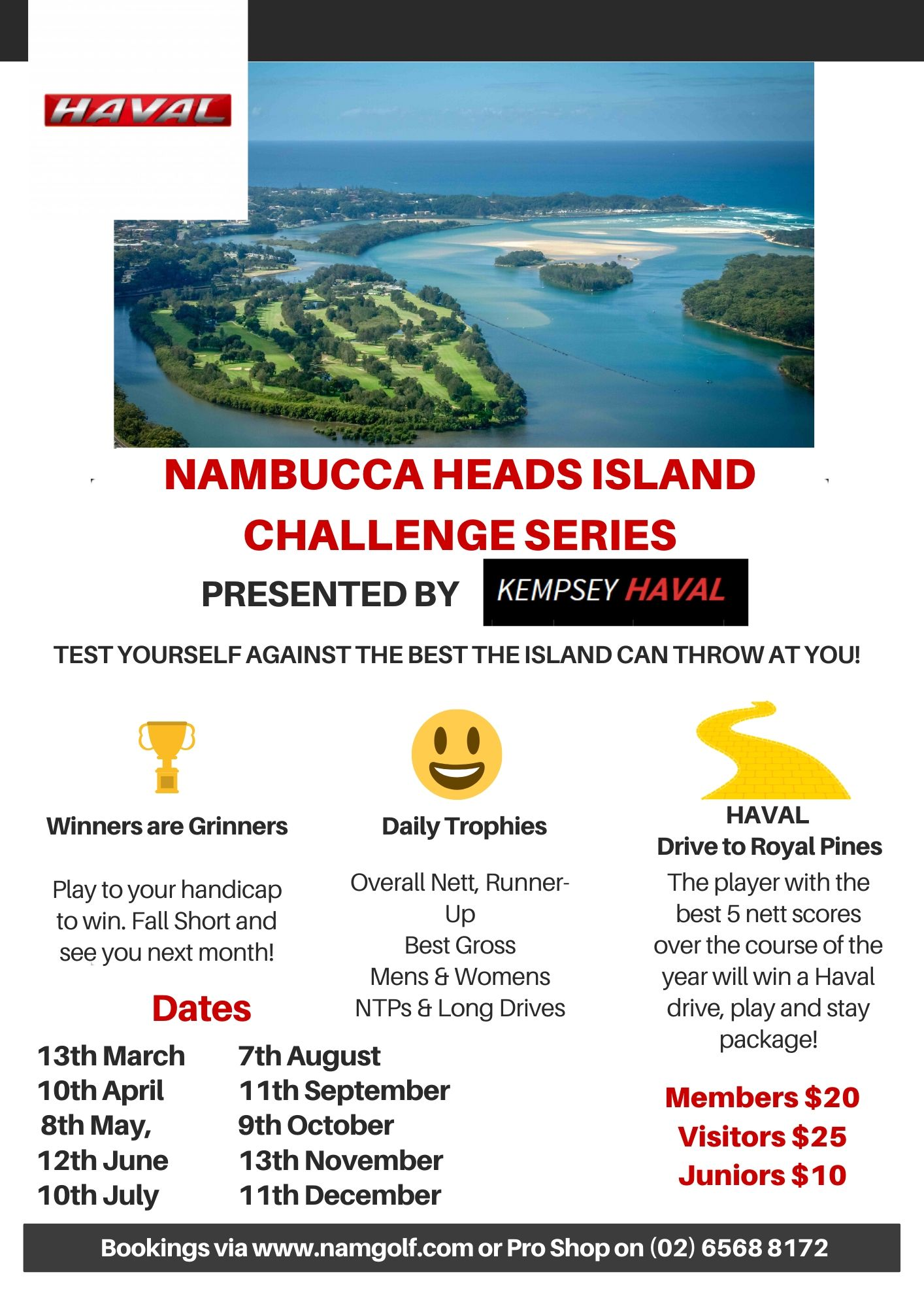 POSTPONED: Nambucca Heads Island Golf Club Challenge Series